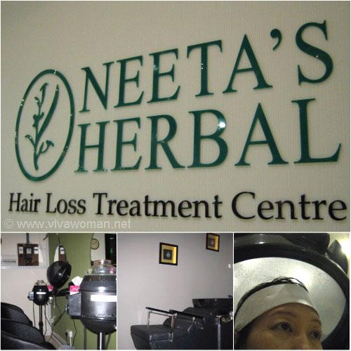 Neeta's Herbal Ayuvedics hair loss treatment
