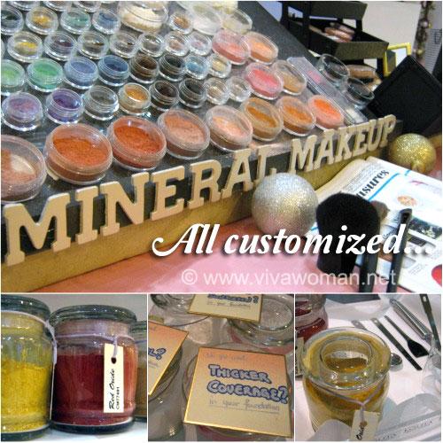Get your custom blend mineral makeup at Lolita