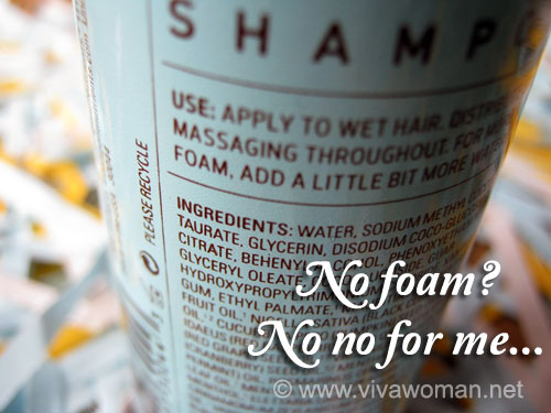Do foam free shampoos work at all?