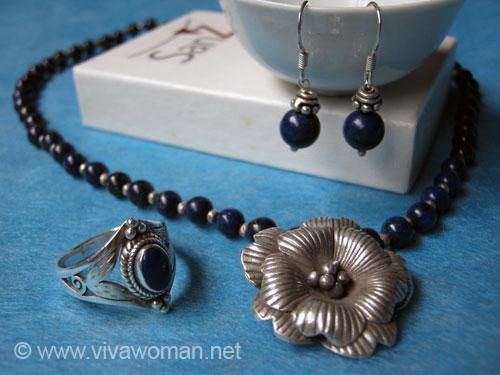Lapis Lazuli Handmade Silver Jewelry