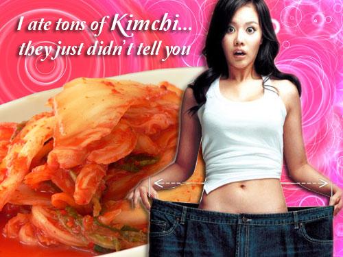 Wanna slim down?  Eat Kimchi the Korean way