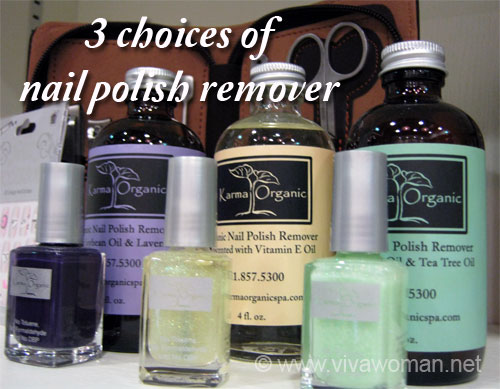 Non-toxic nail polishes & nail polish remover |