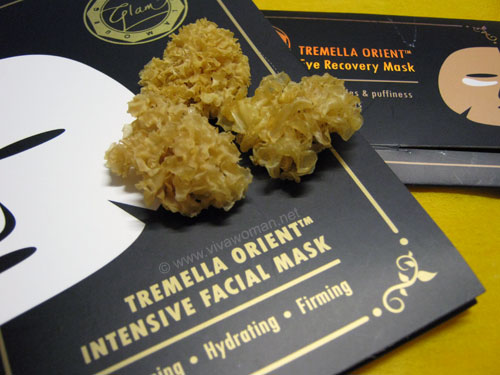 Review: Tremella Orient face & eye masks