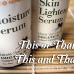 Use all the serums together or alternate them?