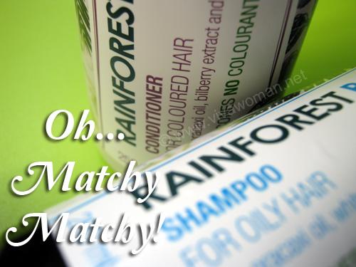 Share: do you match your shampoo & conditioner?