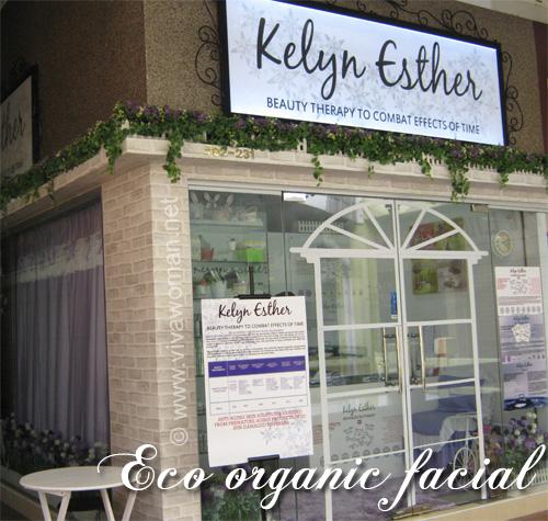 Kelyn Esther Garden Spa Eco Organic Facial