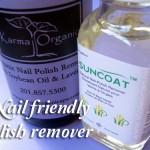 Nail saviors: acetone free nail polish removers