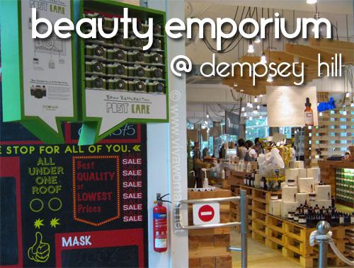 Beauty Emporium @ Dempsey: 1-stop beauty store