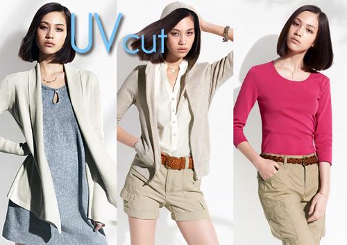 Uniqlo's UV Cut: fashionable sun protection