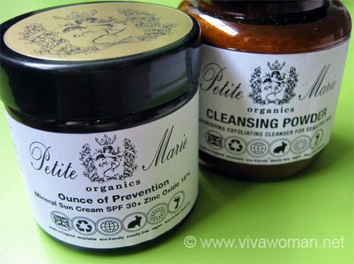 Petite Marie Organics Products