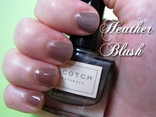 Scotch Naturals Heather Blush Scotch Naturals: safe & eco friendly nail polish