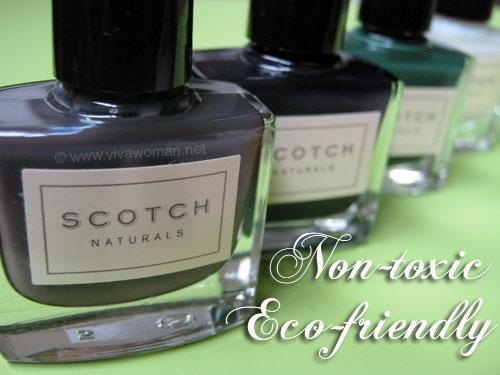 Scotch Naturals Scotch Naturals: safe & eco friendly nail polish