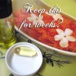 DIY Beauty: can I make the recipe in a big batch?