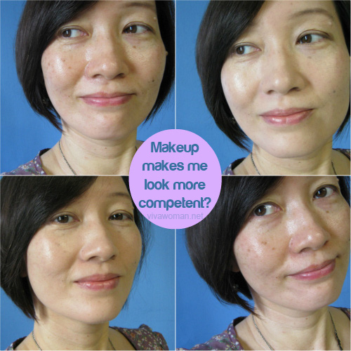 Share: do makeup make us look more competent?