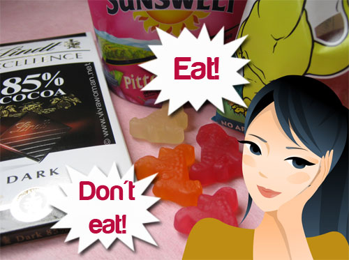 Share: do you think before you eat for skin's sake?
