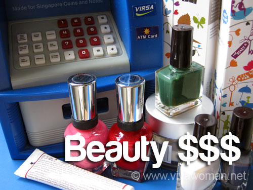 Share: do you have a monthly beauty budget?