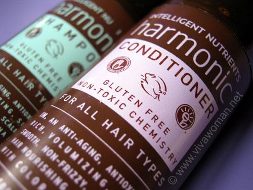 Intelligent Nutrients Harmonic gluten-free hair products