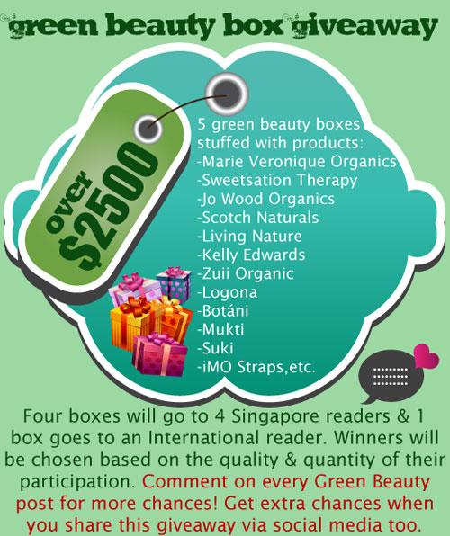 Green Beauty2500 Green Beauty: organic goodies from Bud Cosmetics