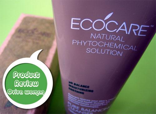 An-yong-ha-se-yo: Ecocare Pure Balancing Cleanser
