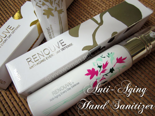 Renouve Anti-Aging Hand Sanitizing Lotion + giveaway