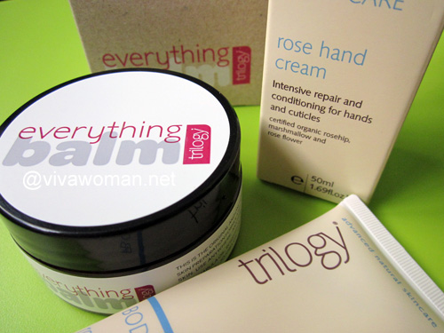 Trilogy Rose Hand Cream & Everything Balm