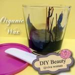 DIY Beauty: organic wax strips to rid unwanted hair