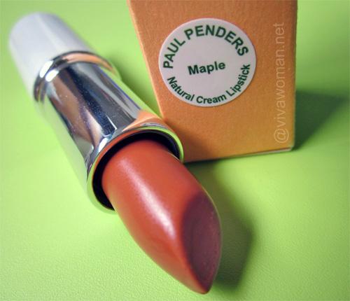 Giveaway: 5 Paul Pender Natural Cream Lipsticks