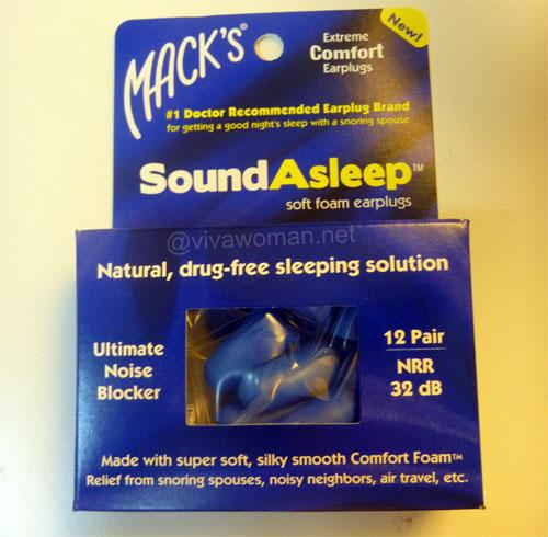 how to use earplugs for sleeping