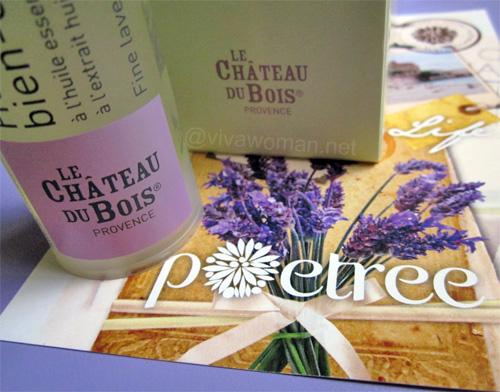 Le Château du Bois: lavender body care range