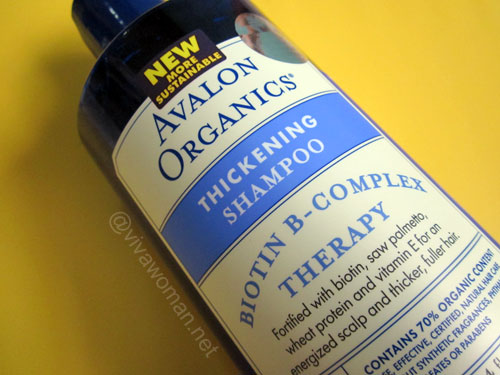 Avalon Organics Thickening Shampoo Avalon Organics Thickening Shampoo & Conditioner