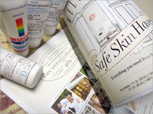 VMV Hypoallergenics Skin-Specialist: safe skin haven