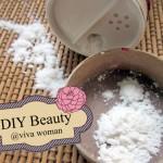 DIY Beauty: dry shampoo with arrowroot powder