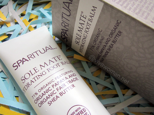 SpaRitual Solemate Hydrating Foot Balm Promotion