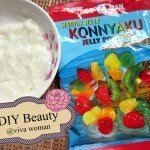 DIY Beauty: a fun konjac-konnyaku jelly face mask