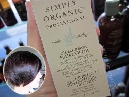 Simply Organic Oil Emulsion Haircolor @Ecorganics