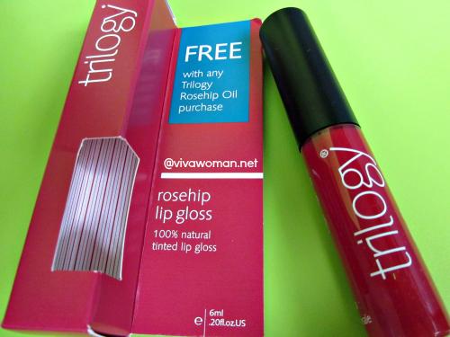 Trilogy Rosehip 100 Natural Tinted Lip Gloss