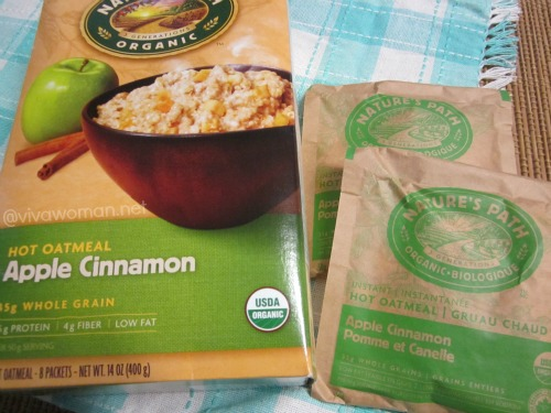 Nature's Path Apple Cinnamon Hot Oatmeal
