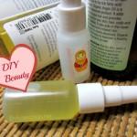 DIY Beauty: cute small serum bottles for oil mixes