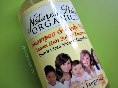 Nature's Baby Organics Shampoo & Shower Gel