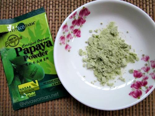 papaya-powder