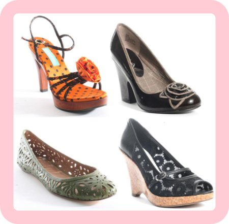 Flower powered fashion shoes