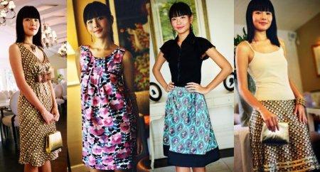 Swirl pretty in vintage inspired fashion