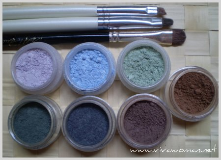 Erth mineral eyeshadow review
