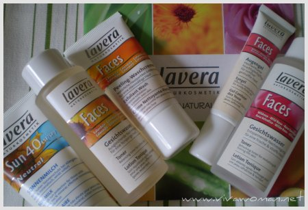 Product review on Lavera organic skincare