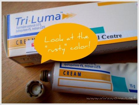 Review: Tri-Luma Cream to lighten age spots