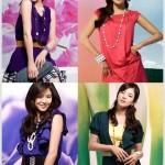 Pretty feminine Korean fashion wear