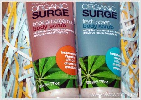 ThinkHappy Organic Surge Body Scrub