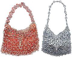 Eco-friendly pop-top handbags