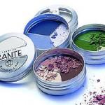 Organic eye shadow powder
