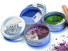 Organic eye shadow powder